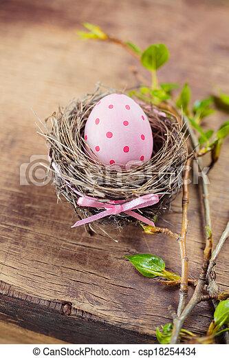 イースター, 卵 - csp18254434