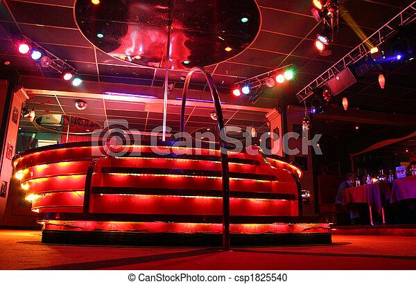 night club podium - csp1825540