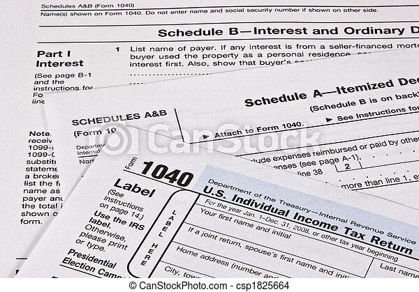 Income Tax Return - csp1825664