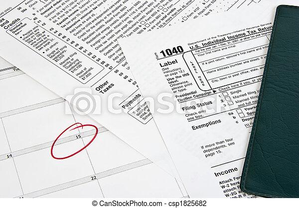 Income Tax Return - csp1825682