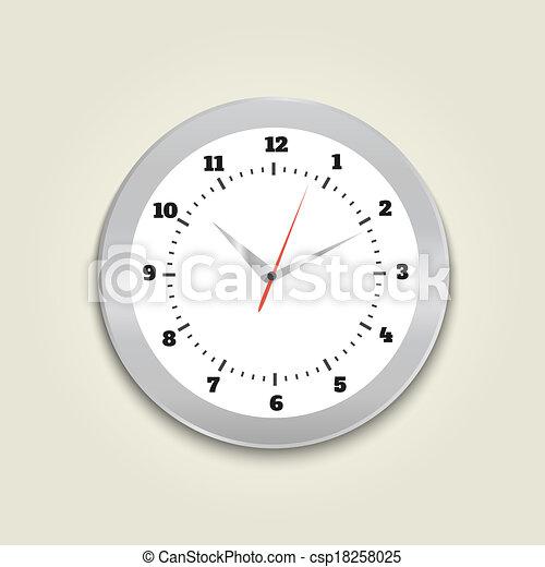 矢量-绕行, 办公室, 钟