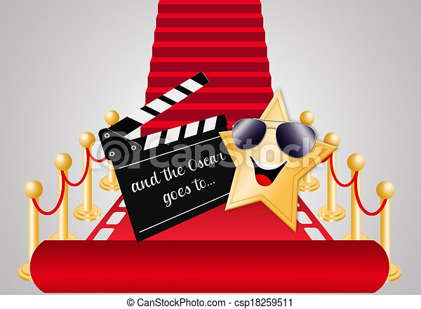 clipart of star on red carpet for oscars award csp18259511 red carpet paparazzi clip art red carpet clip art free