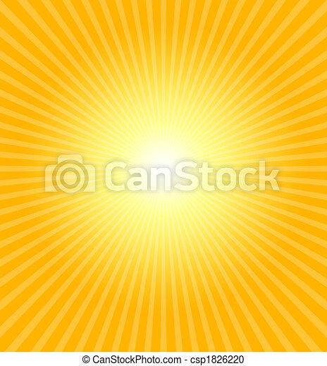 Hot summer sun - csp1826220