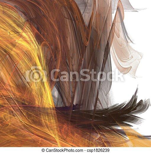 Fractal hair - csp1826239