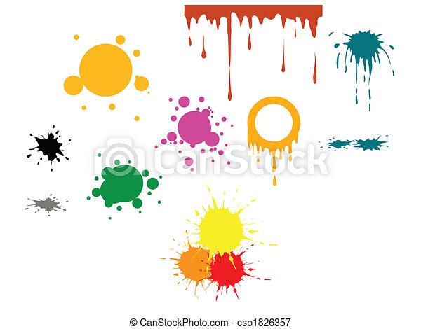 Vector color spots - csp1826357