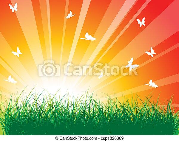 Spring meadow - csp1826369