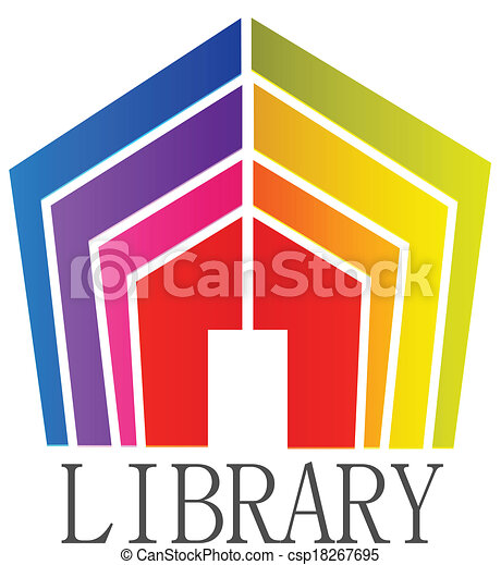 EPS Vectors of Library books logo - Library books icon vector ...