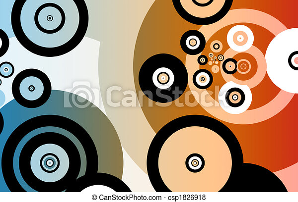 Fun Partying Nightlife Abstract Background - csp1826918