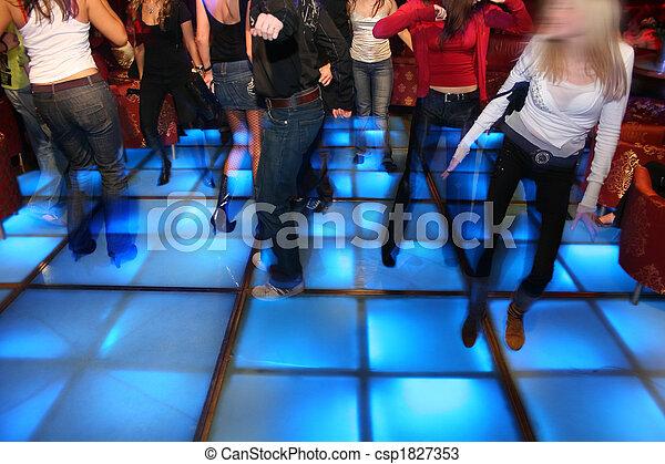 dance night club 3 - csp1827353