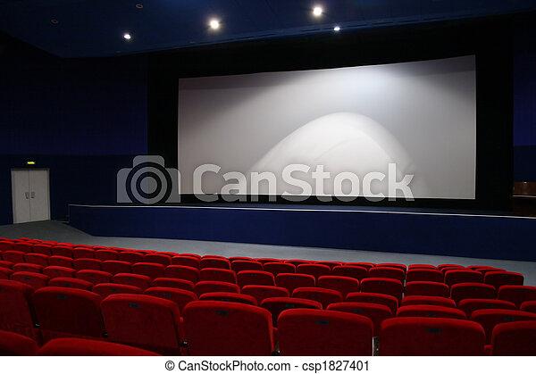 cinema interior 3 - csp1827401