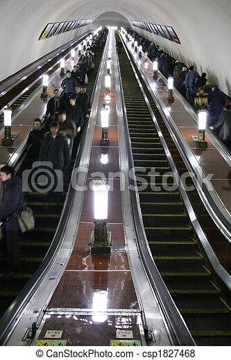 subway elevator - csp1827468