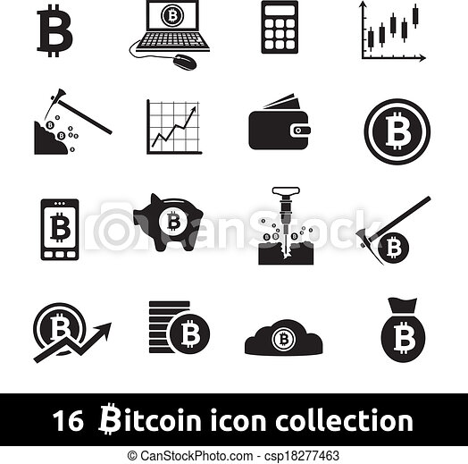 Bitcoin Logo Vector Vector Bitcoin Icons