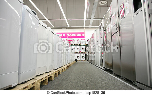 household appliances shop - csp1828136