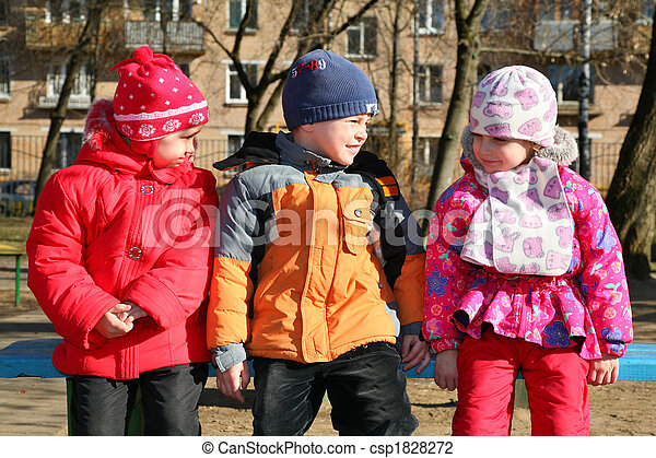 children in kindergarten - csp1828272