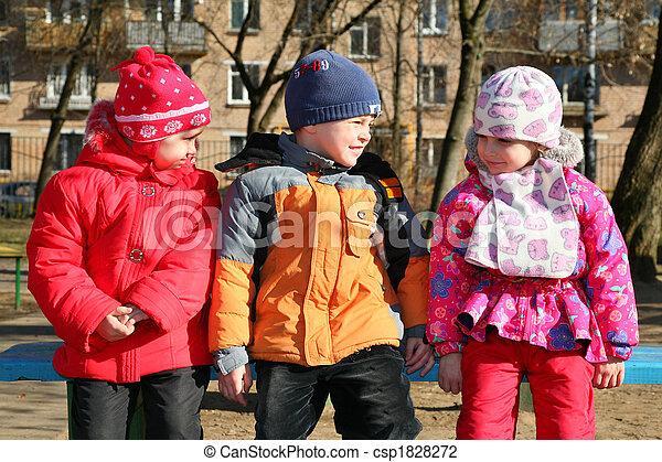 children in kindergarten - csp1828272