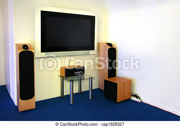 home theater 2 - csp1828327