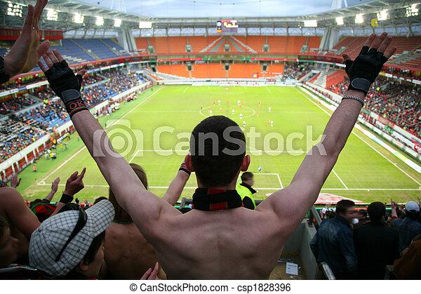 spectator on football - csp1828396