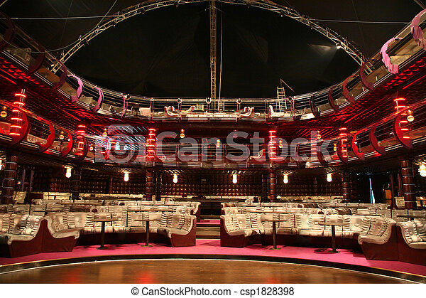 luxury audience hall - csp1828398