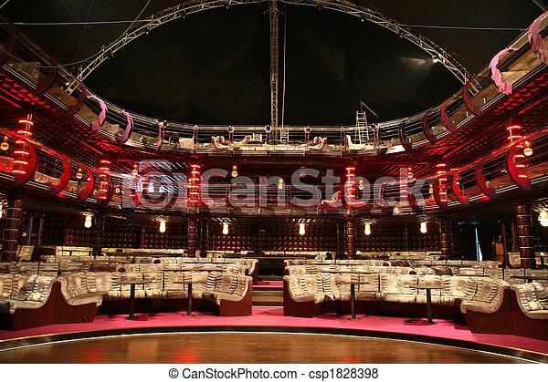 luxury audience hall - csp1828398