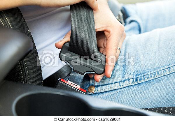säkerhet, bälte - csp1829081