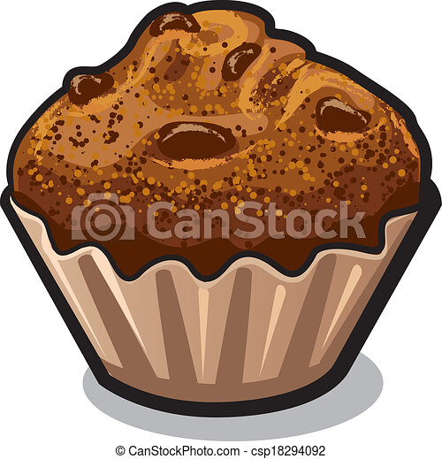 eps vectors of muffin csp18294092 search clip art
