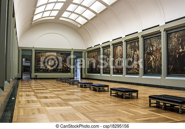 how to clean louvre galleries
