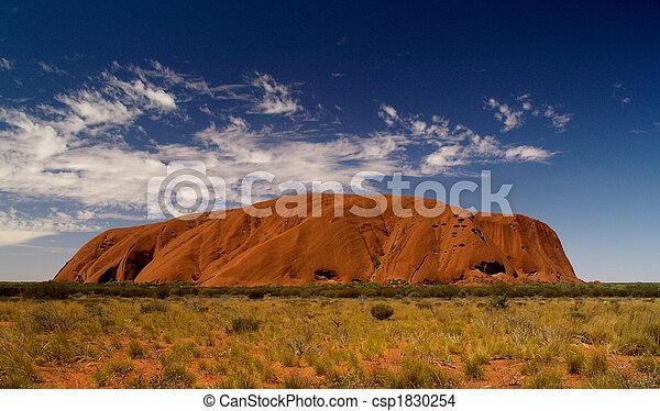 Australia\'s Uluru Full - csp1830254