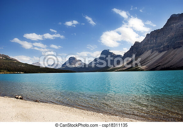 Bow Lake - csp18311135
