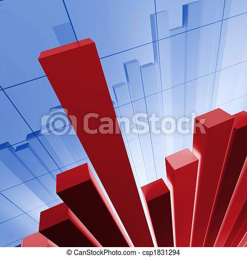 financial stat background - csp1831294