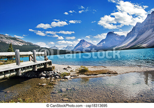 Bow Lake - csp18313695