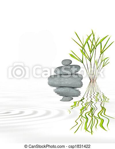 Zen Garden Tranquility - csp1831422