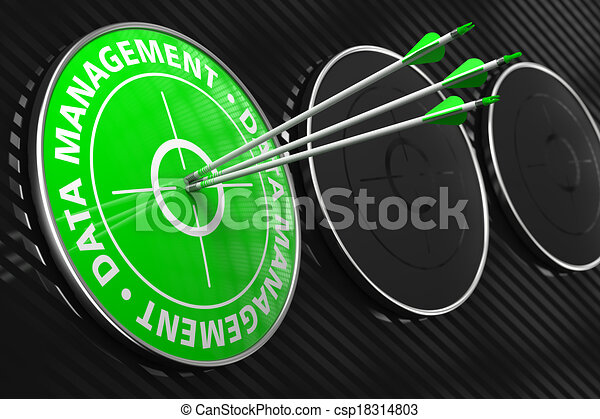 Data Management Concept on Green Target. - csp18314803
