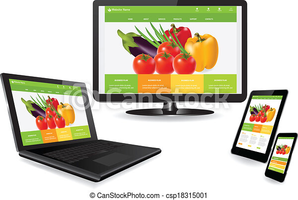 Responsive web design - csp18315001