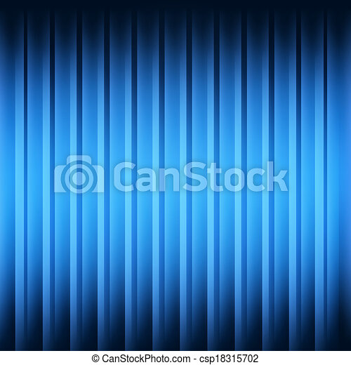 Blue abstract backdrop with 3d effect - csp18315702