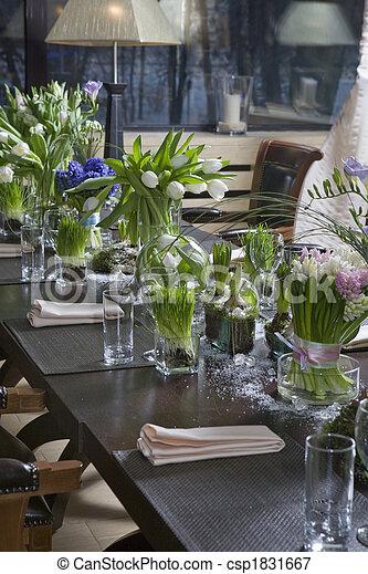 Bilder von hyazinthe blumengebinde blumenvase for Dekoration essen