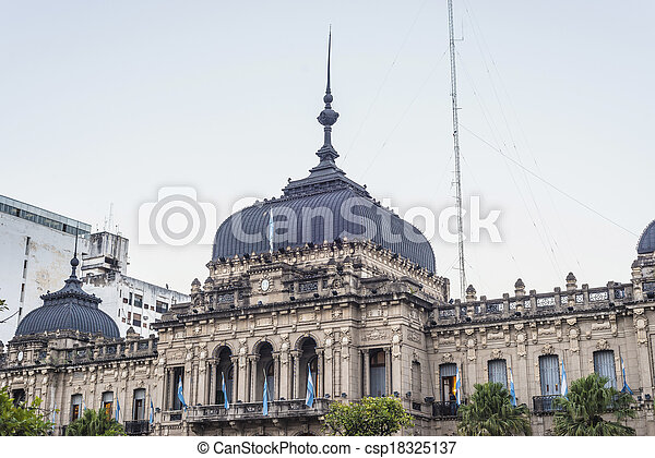 Government Palace in Tucuman, Argentina. - csp18325137
