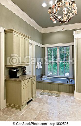 expensive bathroom - csp1832595
