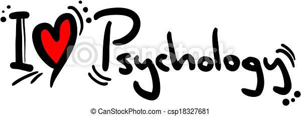 Psychology love - csp18327681