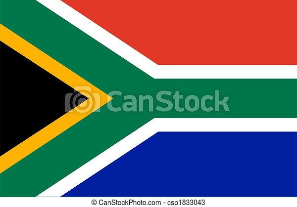 Flag of RSA   - csp1833043