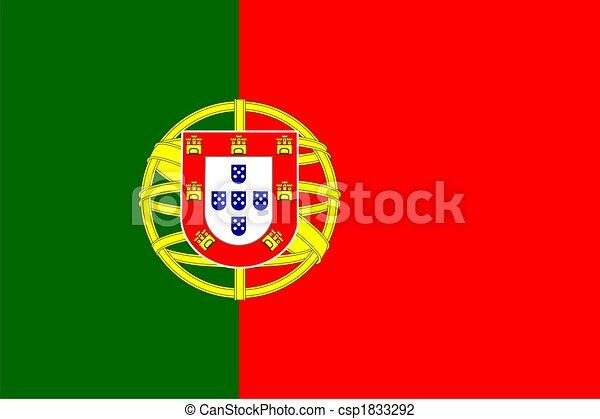 Portugal Flag  - csp1833292