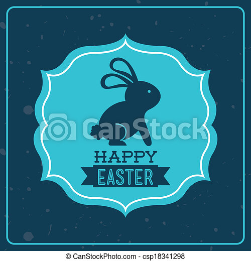 happy easter - csp18341298