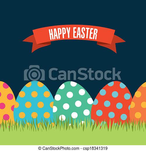 happy easter - csp18341319