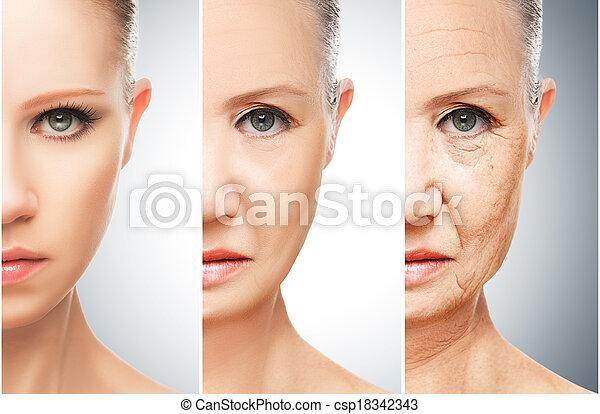 Affronti pacchi da argilla per pelle di faccia secca