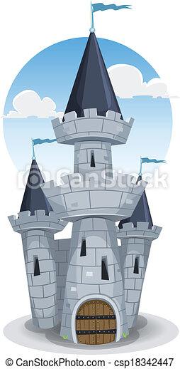 Castle Tower - csp18342447