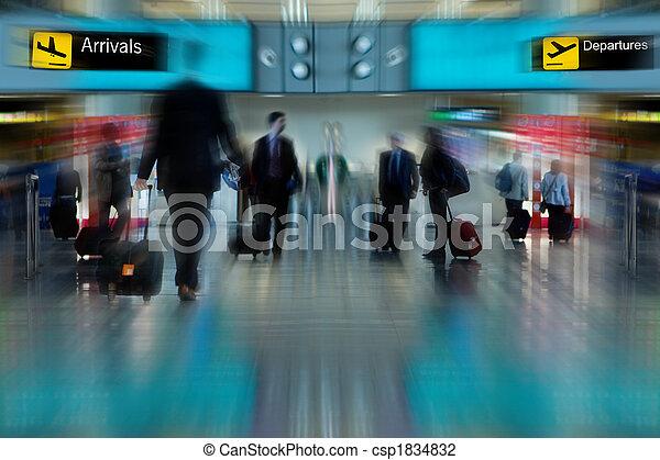 Airline Passengers - csp1834832