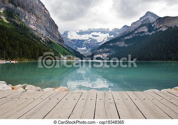 Lake Louise - csp18348365