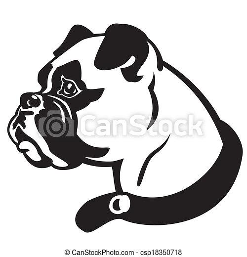english bulldog drawings