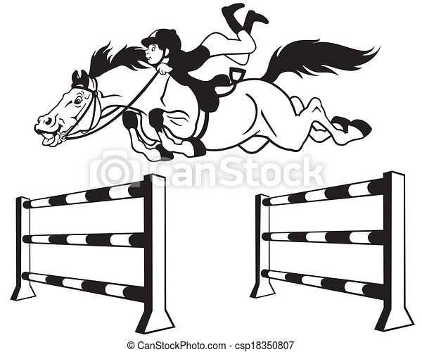 Unicornios further Isscngc likewise Tecknad Film H C3 A4st Hoppning 18350807 in addition 4 Jumping Horse Printable Coloring as well 61697 Clipart Of A Horse In Black And White Royalty Free Vector Illustration By Jvpd. on horse jumping drawing
