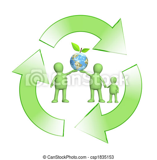 Conceptual image - protection of an environment - csp1835153