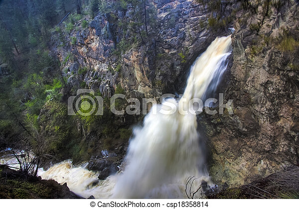 Fintry Waterfalls - csp18358814